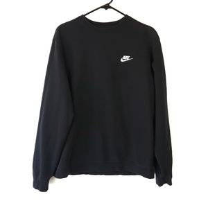 Nike Black Crewneck Sweatshirt